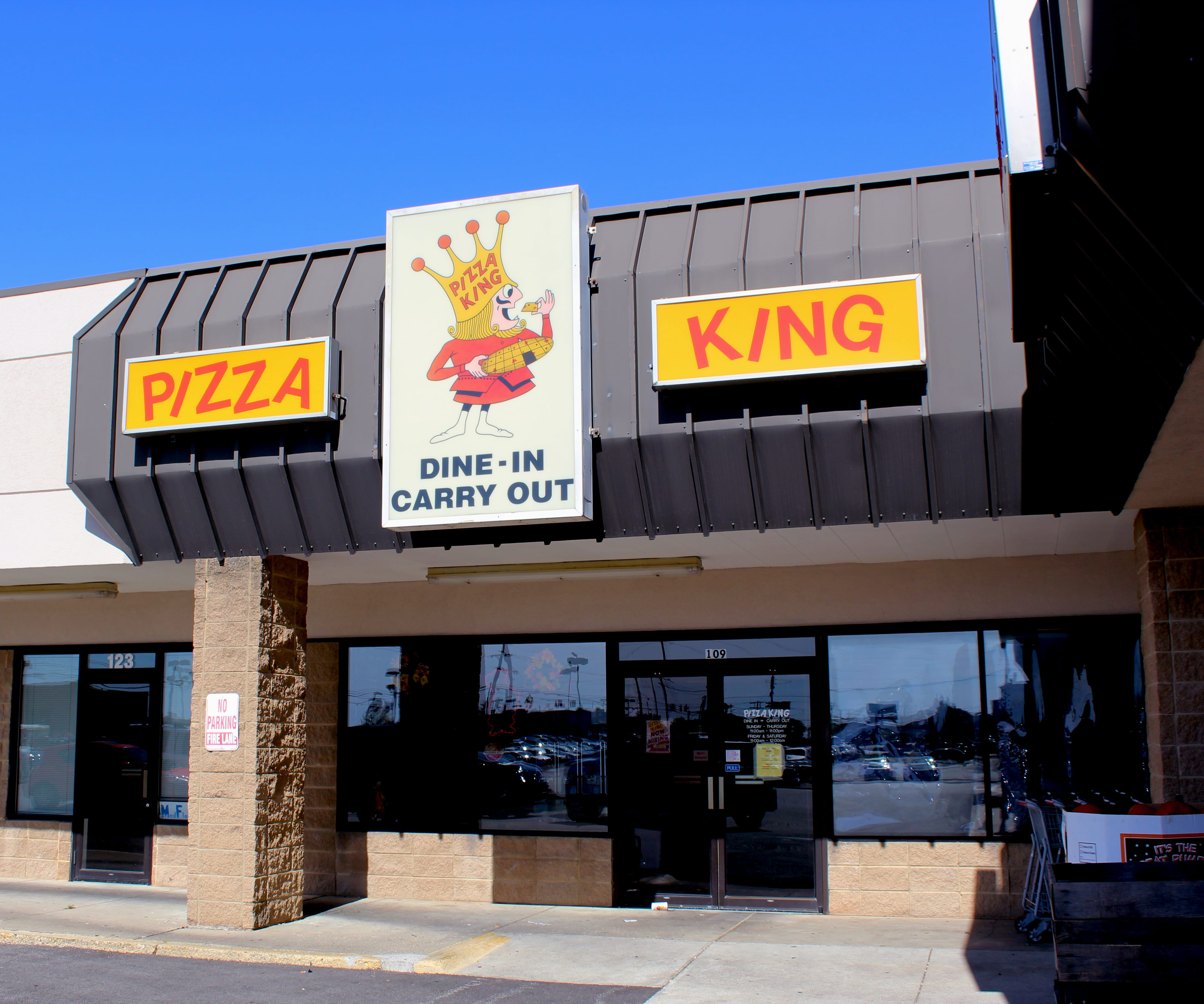 pizza king restaurant and delivery creasy lane lafayette indiana