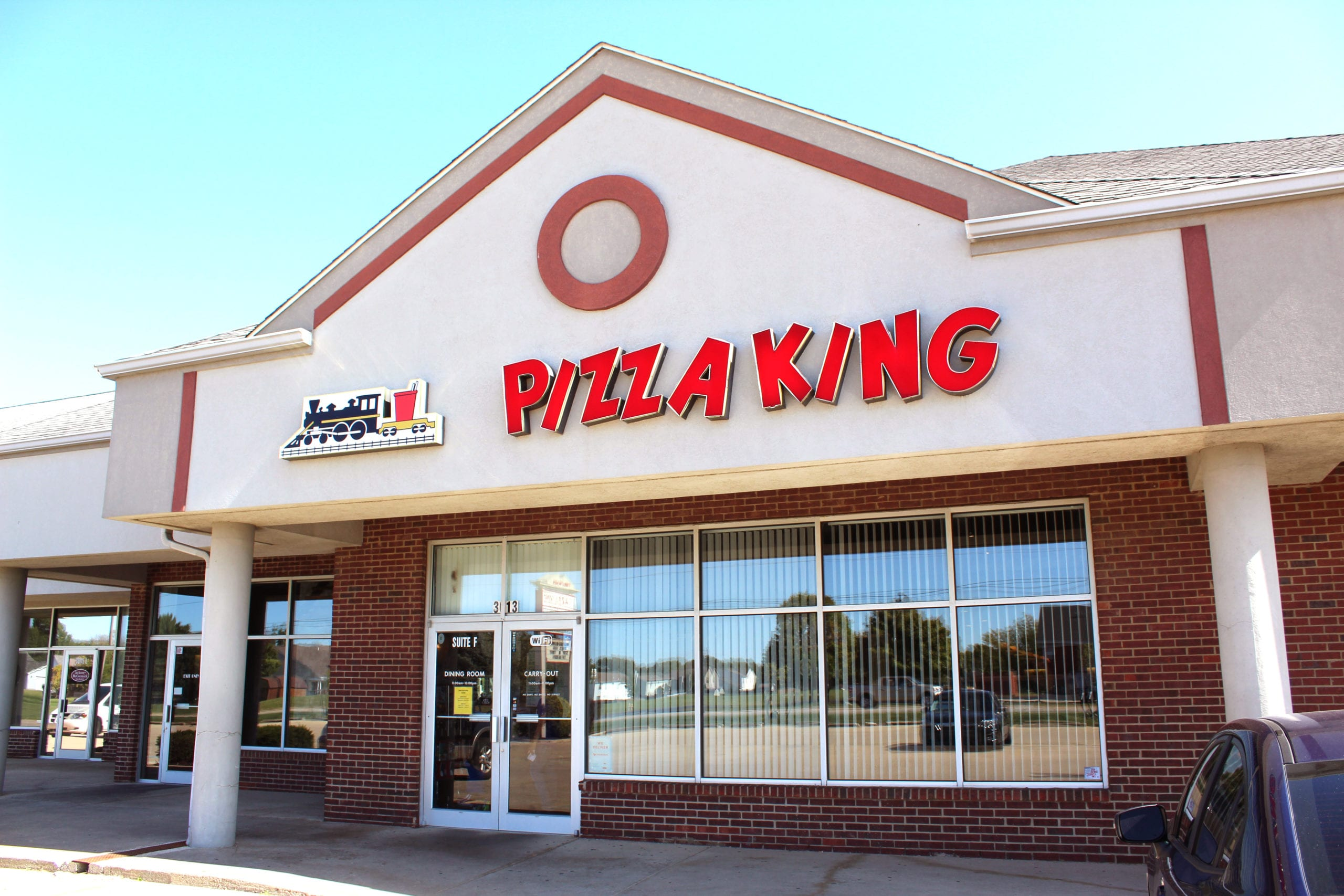 stop by our wea plaze pizza king location in the south side of lafayette indiana